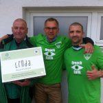 Aufwärmshirts 1.Männer Eintracht KW-Hunter,Matthias,Daniel