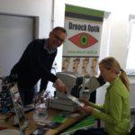 Gesundheitstag der BEK mit Dreock Optik in der Kurbelwelle Wildau